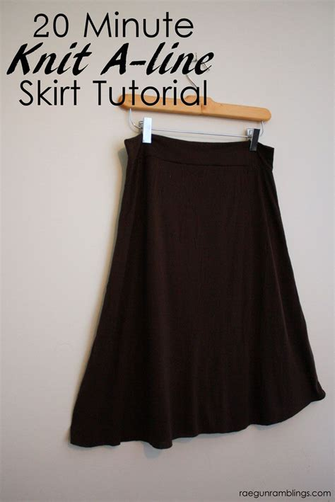 sewing pattern simple knit skirt hogwarts textbooks skirt and 20 minute knit a line skirt