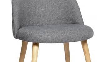 chaise scandinave en tissu gris pi 232 ce 224 vivre