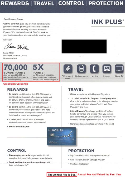 Credit Card Invitation Letter Random News Ink Plus 70 000 Point Sign Up Bonus Targeted Letter Us Bank Flexperks Credit