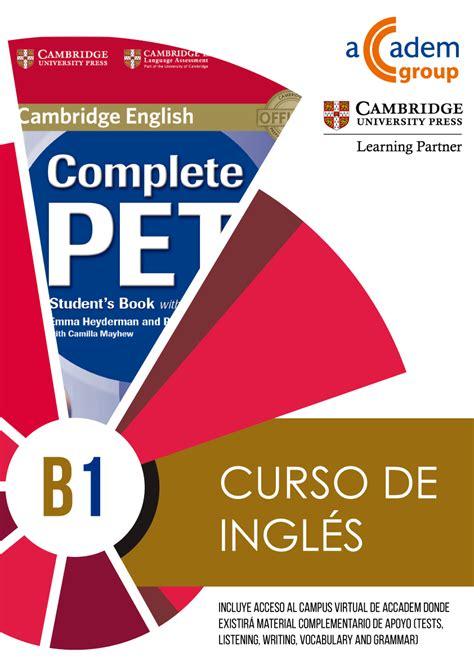 test inglese b1 curso de ingl 233 s nivel b1 anual centro de orihuela