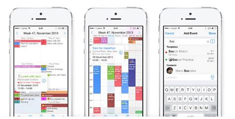 Calendar App Iphone Week Calendar Iphone Calendar App For Power Users