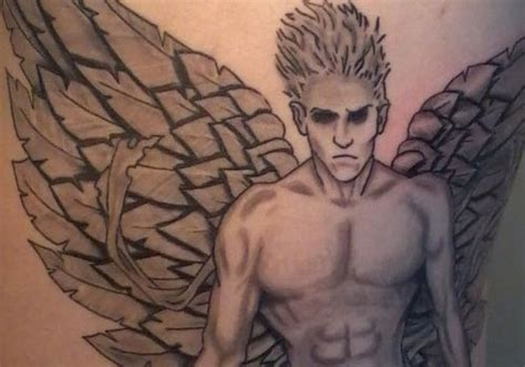 angel tattoo rib cage tattoo collection 30 pleasant angel tattoos for men creativefan