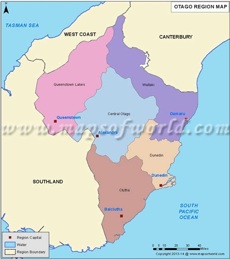 us area code from nz otago map districts of otago region new zealand