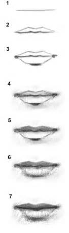how to draw lips drawing and digital painting tutorials