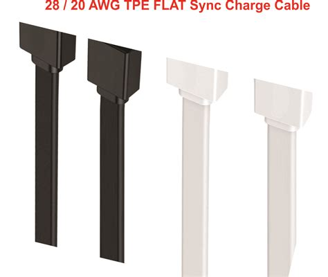 Ihave Flat Microusb Cable Black alliva talking alert cable with superfast charging indiegogo