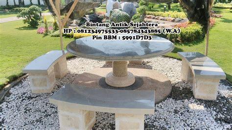 Meja Batu meja taman marmer murah pusat kerajinan marmer