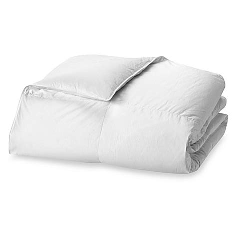 thin down comforter the seasons collection 174 light warmth white goose down