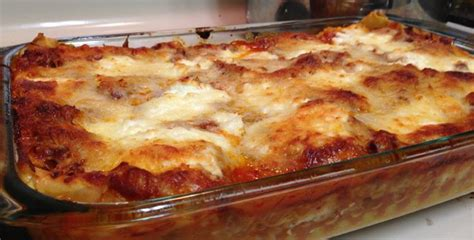 bison lasagna recipe add garlic to sub for rice