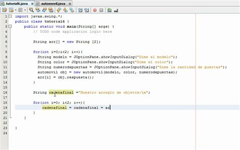 tutorial java y netbeans tutorial 6 parte 2 2 java netbeans www inquisidores net