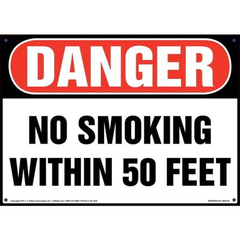 no smoking signs and labels osha warning danger no smoking within 50 feet sign osha