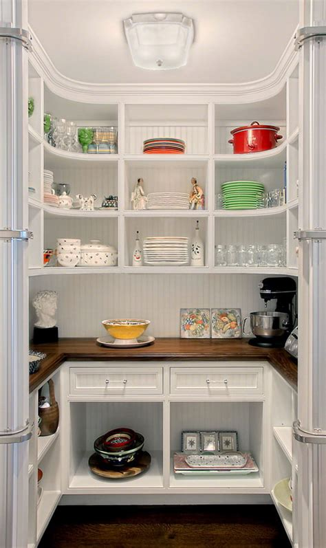 functional  creative kitchen pantry ideas noted list