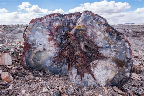 Volcanic Sand by Petrified Forest National Park The Greatest American