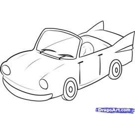 How To Draw Car How To Draw An Easy Car Step By Step Cars Draw Cars