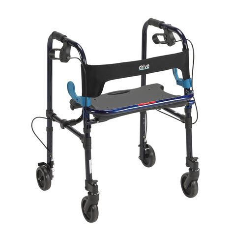 walkers with a seat maxiaids clever lite walker with seat and loop locks