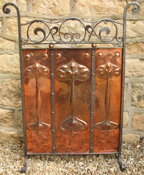 Copper Fireplace Screen Charles Graham Architectural Antiques And Fireplaces