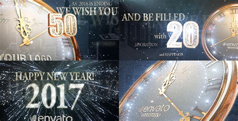 new year 2016 after effects template 2017 new year countdown holidays after effects templates