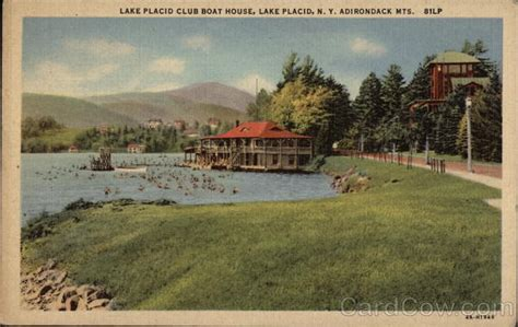 lake placid club boat house lake placid club boat house adirondack mts