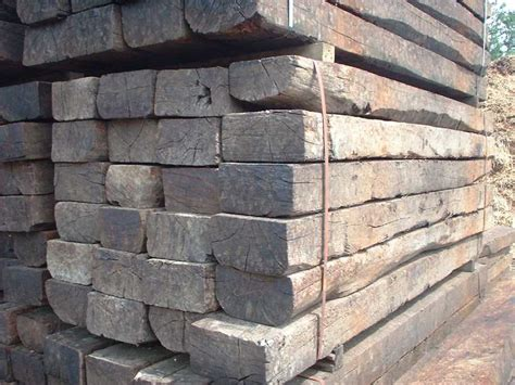 What Size Are Railway Sleepers by Used Grade 1 Oak Railway Sleepers Railwaysleepers