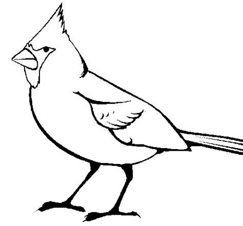 coloring page cardinal cardinal coloring page coloringcrew com