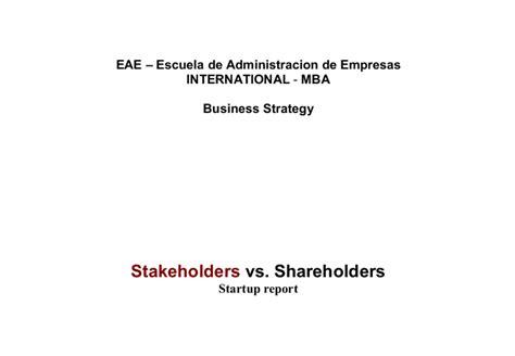 Shareholder Vs Stakeholder Essay by Stakeholders Vs Shareholders A Level Business Studies Marked By Teachers