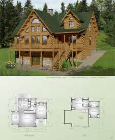 Katahdin Log Home Floor Plans by Sebec Big Twig Homes Big Twig Homes