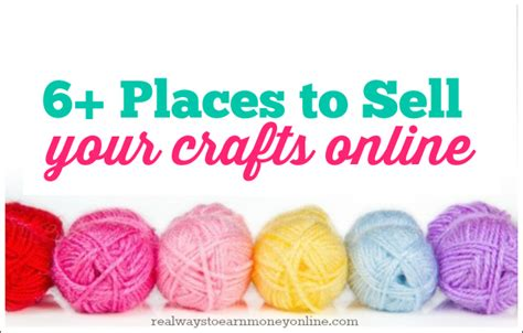 I Want To Sell My Handmade Items - six places to start selling crafts