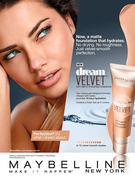 Makeup Ads maybelline cosmetic advertising velvet cosmetic skincare advertising