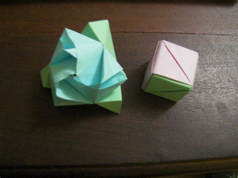 Magic Origami - origami magic cube by empapelarte on deviantart