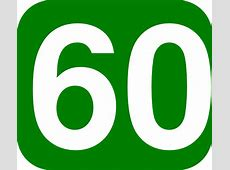 number 60 images | 60 Days Green White Clip Art at Clker ... Number Sixty