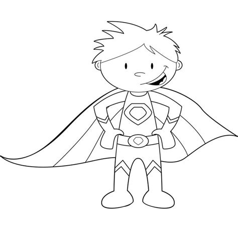 superhero coloring pages preschool 17 best images about preschool superhero ideas on
