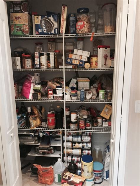 What Rhymes With Pantry by Pantry Storage Makeover Go Go Go Gourmet