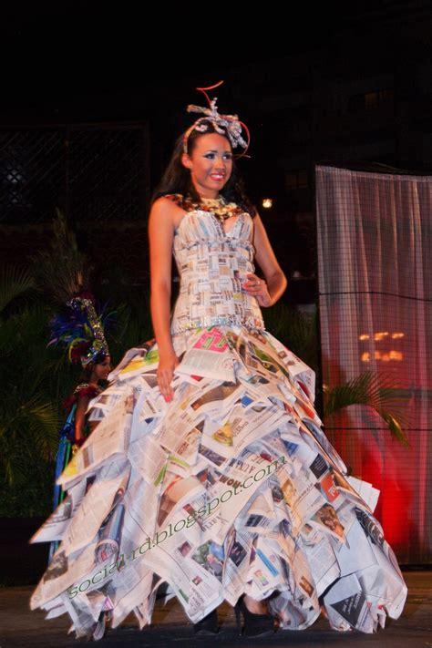 traje de fantasia con material reciclado social rd trajes t 237 picos regionales o en fantas 237 as