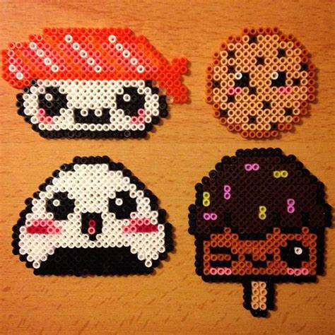 kawaii perler 25 best ideas about hama kawaii on hama