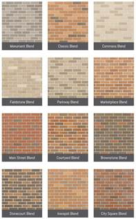 metrobrick color and finish options metrobrick by