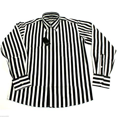 black and white striped l black white striped shirt mens custom shirt