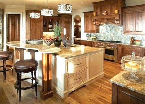 two level kitchen island two level kitchen island with