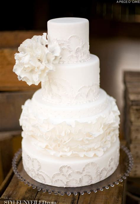 All Wedding Cakes by All White Wedding Cakes The Magazine