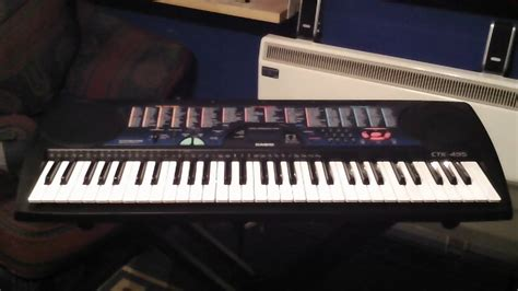 Keyboard Casio Ctk 100 casio ctk 495 keyboard 100 demonstration songs part 4 5 songs 061 to 080
