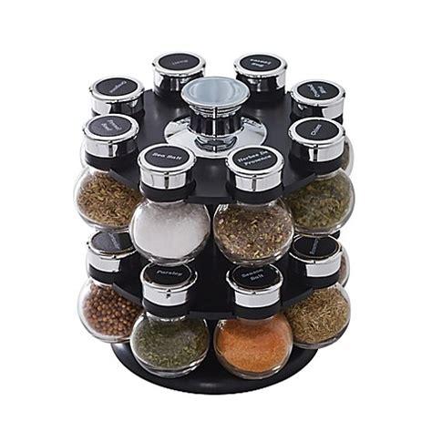 bed bath and beyond track order buy kamenstein 174 ellington 16 jar spice rack from bed bath beyond