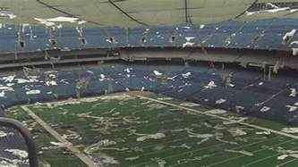 Pontiac Silverdome Stadium Pontiac Silverdome To Be Demolished After Agreement Reached