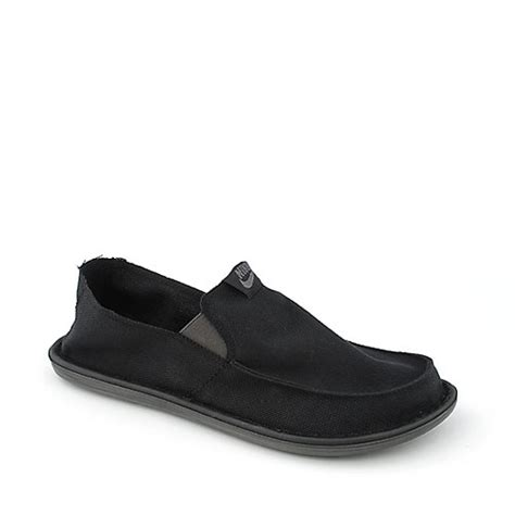 nike solarsoft lakeside mens slip on shoe