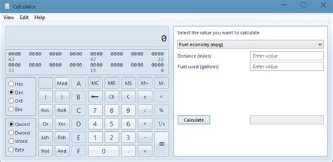 calculator for windows windows 7 classic calculator in windows 10