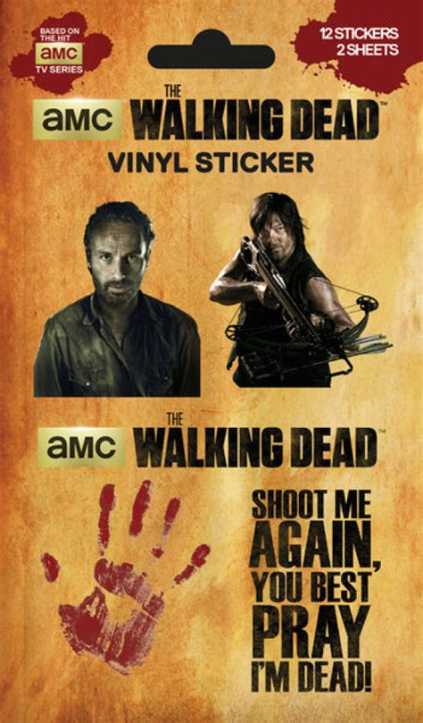 Walking Dead Sticker Book