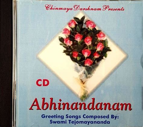 Chinmaya Publications. Abhinandanam ? Greeting Songs