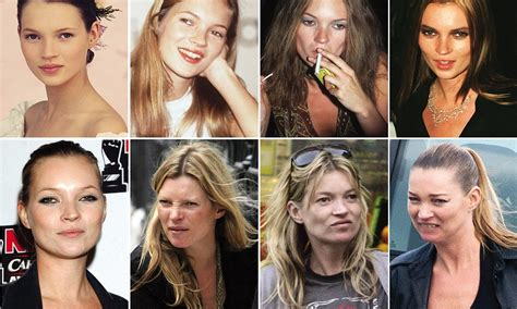 Anistons New Likes Kate Moss And Cocaine by Kate Moss The Effect Of 20 Years Of Drink Drugs And