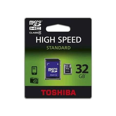 Toshiba Sd C032uhs1 Bl5a Microsdhc Uhs I Class 10 30mb S 32gb tienda toshiba