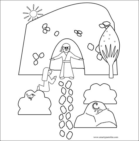 easter story coloring pages for preschoolers 6 best images of printable bible crafts for easter
