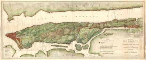 map of manhattan island file 1878 bien and johnson map of new york city manhattan