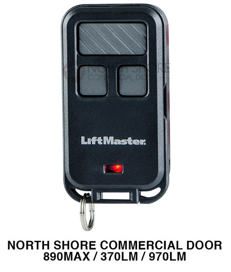 Overhead Door Master Remote Liftmaster 890max Remote Replaces 370lm 970lm Garage Door Remote