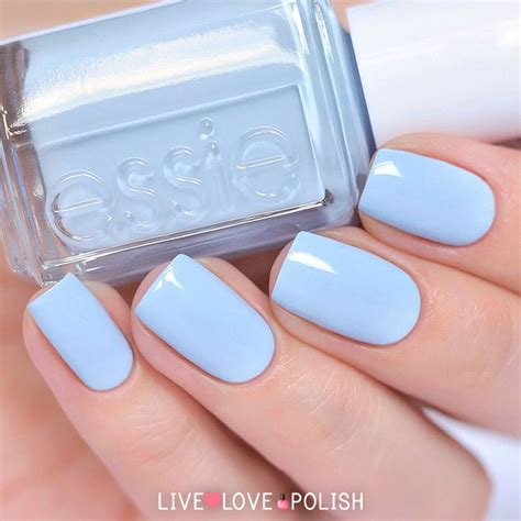 essie light blue nail best 25 sky blue nails ideas on light blue